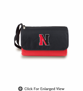 Picnic Time Blanket Tote - Red Northeastern University Huskies