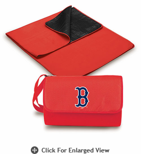 Picnic Time Blanket Tote - Red/Red Boston Red Sox