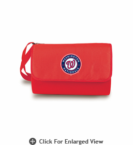 Picnic Time Blanket Tote - Red/Red Washington Nationals