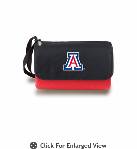 Picnic Time Blanket Tote - Red University of Arizona Wildcats