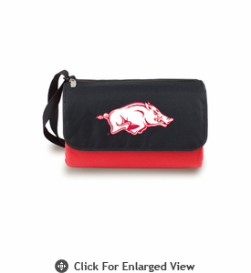 Picnic Time Blanket Tote - Red University of Arkansas Razorbacks