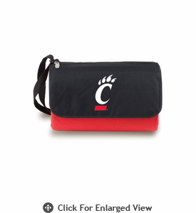 Picnic Time Blanket Tote - Red University of Cincinnati Bearcats