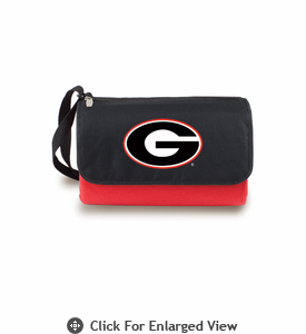 Picnic Time Blanket Tote - Red University of Georgia Bulldogs