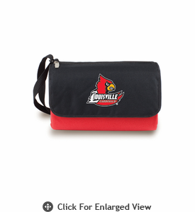 Picnic Time Blanket Tote - Red University of Louisville Cardinals