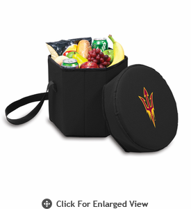 Picnic Time Bongo Cooler 12 Qt. Black Arizona State University Sun Devils