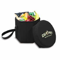 Picnic Time Bongo Cooler 12 Qt. Black Cal Poly Mustangs