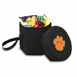 Picnic Time Bongo Cooler 12 Qt. Black Clemson University Tigers