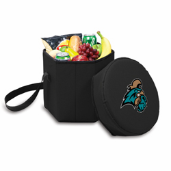 Picnic Time Bongo Cooler 12 Qt. Black Coastal Carolina University Chanticleers
