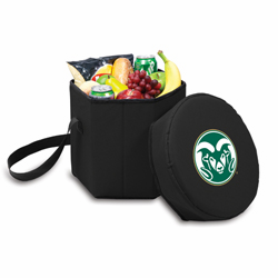 Picnic Time Bongo Cooler 12 Qt. Black Colorado State University Rams