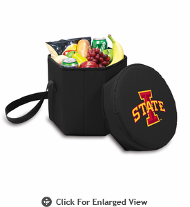 Picnic Time Bongo Cooler 12 Qt. Black Iowa State University Cyclones