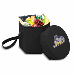 Picnic Time Bongo Cooler 12 Qt. Black James Madison University Dukes