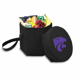 Picnic Time Bongo Cooler 12 Qt. Black Kansas State University Wildcats