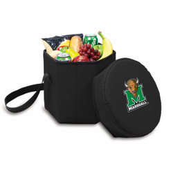 Picnic Time Bongo Cooler 12 Qt. Black Marshall University Thundering Herd