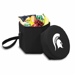 Picnic Time Bongo Cooler 12 Qt. Black Michigan State University Spartans