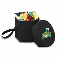 Picnic Time Bongo Cooler 12 Qt. Black Norfolk State Spartans