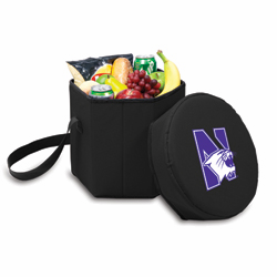 Picnic Time Bongo Cooler 12 Qt. Black Northwestern University Wildcats