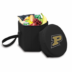 Picnic Time Bongo Cooler 12 Qt. Black Purdue University Boilermakers