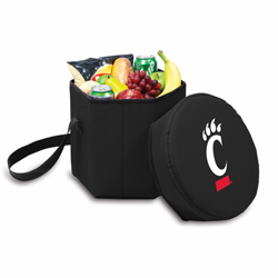 Picnic Time Bongo Cooler 12 Qt. Black University of Cincinnati Bearcats