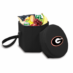 Picnic Time Bongo Cooler 12 Qt. Black University of Georgia Bulldogs