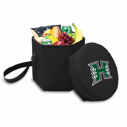 Picnic Time Bongo Cooler 12 Qt. Black University of Hawaii Warriors