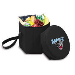 Picnic Time Bongo Cooler 12 Qt. Black University of Maine Black Bears