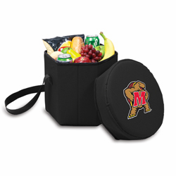 Picnic Time Bongo Cooler 12 Qt. Black University of Maryland Terrapins