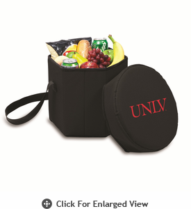 Picnic Time Bongo Cooler 12 Qt. Black University of Nevada, Las Vegas Rebels
