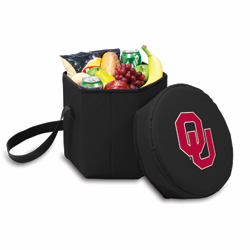 Picnic Time Bongo Cooler 12 Qt. Black University of Oklahoma Sooners