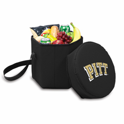Picnic Time Bongo Cooler 12 Qt. Black University of Pittsburgh Panthers