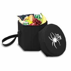 Picnic Time Bongo Cooler 12 Qt. Black University of Richmond