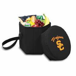 Picnic Time Bongo Cooler 12 Qt. Black University of Southern California Trojans