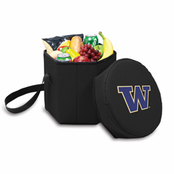 Picnic Time Bongo Cooler 12 Qt. Black University of Washington Huskies