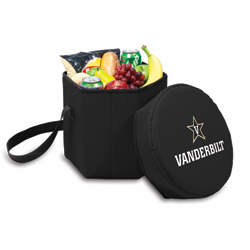 Picnic Time Bongo Cooler 12 Qt. Black Vanderbilt University Commodores