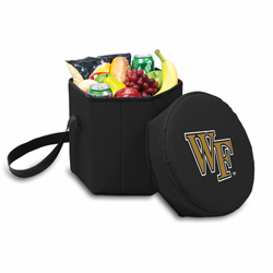 Picnic Time Bongo Cooler 12 Qt. Black Wake Forest University Demon Deacons