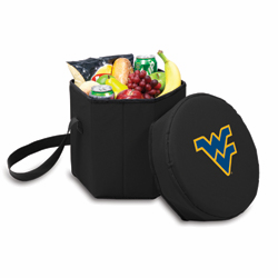 Picnic Time Bongo Cooler 12 Qt. Black West Virginia University Mountaineers