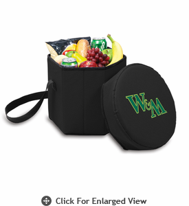 Picnic Time Bongo Cooler 12 Qt. Black William & Mary