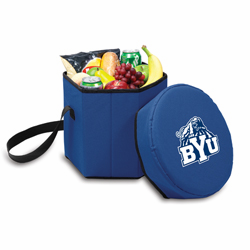 Picnic Time Bongo Cooler 12 Qt. Navy Blue Brigham Young University Cougars