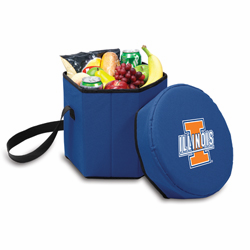 Picnic Time Bongo Cooler 12 Qt. Navy Blue University of Illinois Fighting Illini