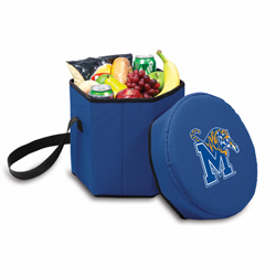 Picnic Time Bongo Cooler 12 Qt. Navy Blue University of Memphis Tigers