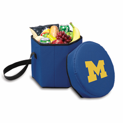 Picnic Time Bongo Cooler 12 Qt. Navy Blue University of Michigan Wolverines