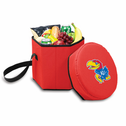 Picnic Time Bongo Cooler 12 Qt. Red University of Kansas Jayhawks