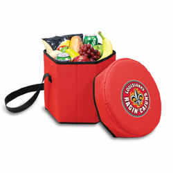 Picnic Time Bongo Cooler 12 Qt. Red University of Louisiana Ragin Cajuns