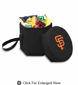Picnic Time Bongo Cooler - Black San Francisco Giants