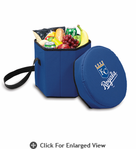 Picnic Time MLB -  Bongo Cooler - Navy Blue Kansas City Royals