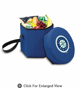 Picnic Time Bongo Cooler - Navy Blue Seattle Mariners