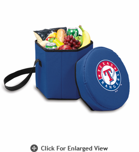 Picnic Time Bongo Cooler - Navy Blue Texas Rangers