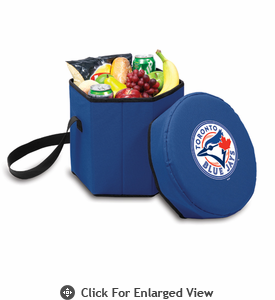 Picnic Time Bongo Cooler - Navy Blue Toronto Blue Jays