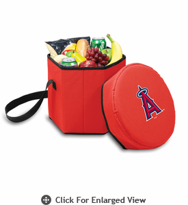 Picnic Time Bongo Cooler - Red Los Angeles Angels