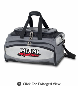 Picnic Time Buccaneer Embroidered Miami University Red Hawks