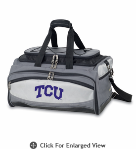 Picnic Time Buccaneer Embroidered TCU Horned Frogs